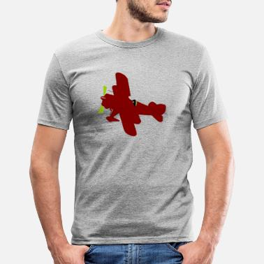 Plane - Men's Slim Fit T-Shirt