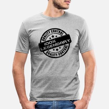 Legendär Legendär - Männer Slim Fit T-Shirt