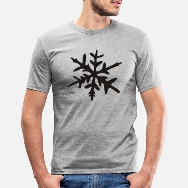 Ice Crystal Ice Crystal - Men's Slim Fit T-Shirt