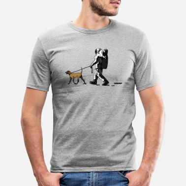 Funny moonwalk - Men's Slim Fit T-Shirt