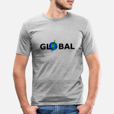Global Global - Männer Slim Fit T-Shirt