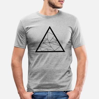 Triangle Triangle - Men's Slim Fit T-Shirt
