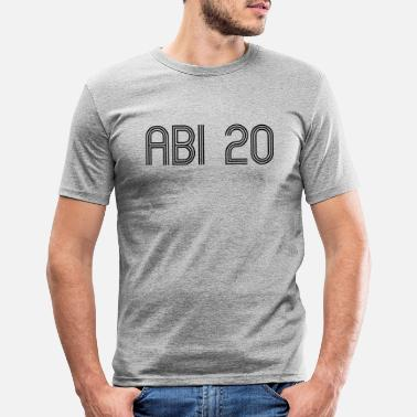 Abi ABI 20 - T-shirt slim fit herr