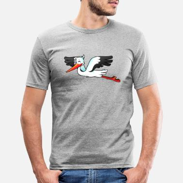 Storch Storch - Männer Slim Fit T-Shirt