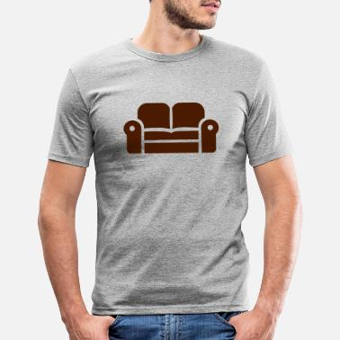 Couch couch - Men's Slim Fit T-Shirt