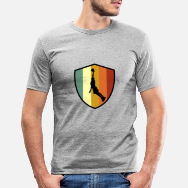 Slamdunk Basketball Slamdunk - Männer Slim Fit T-Shirt