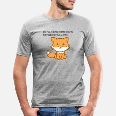 Fox Fox Fox - Men's Slim Fit T-Shirt