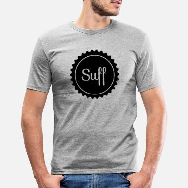 Suff SUFF - Mannen slim fit T-shirt