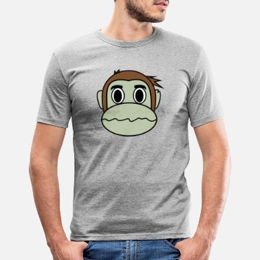 Dizzy Dizzy Monkey - Men's Slim Fit T-Shirt