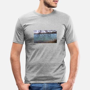 View Lake view - Men's Slim Fit T-Shirt