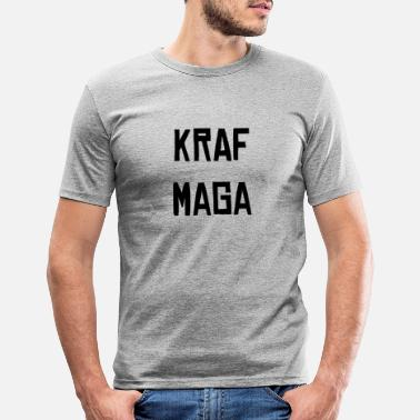 Krafs KRAF MAGA FIGHTING SELF-DEFENSE TEE SHIRT - T-shirt slim fit herr