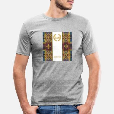 Clan clan anderson - T-shirt moulant Homme