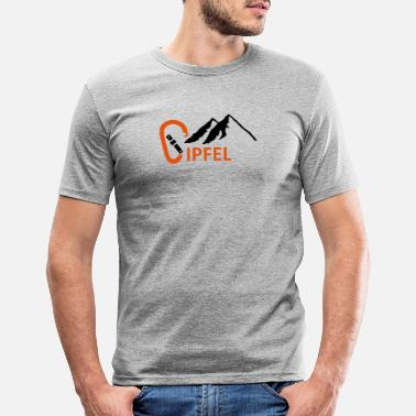 Summit Summit carabiners - Men's Slim Fit T-Shirt