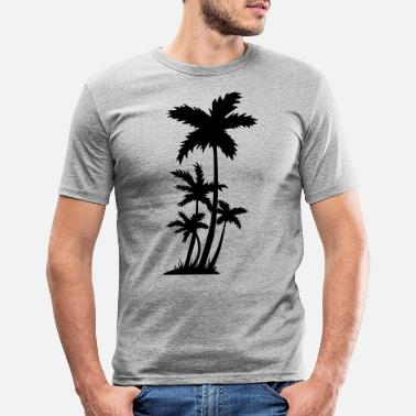 Palm Trees palm trees - Men's Slim Fit T-Shirt
