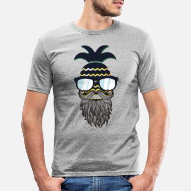 Underwear Funny perfect hipster pineapple - Men's Slim Fit T-Shirt
