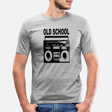 Old School old school - Männer Slim Fit T-Shirt