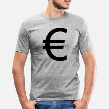 Euro Euro - Men's Slim Fit T-Shirt