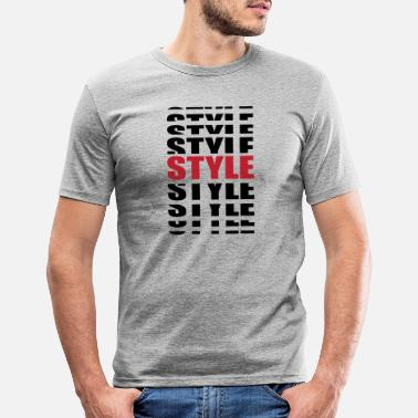 Stylé Style - T-shirt moulant Homme