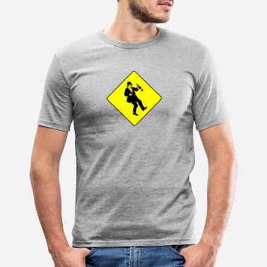 Betrunken Betrunkener Mann - Men's Slim Fit T-Shirt