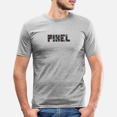 Pixel pixel - T-shirt slim fit herr