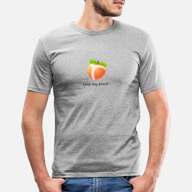 Garde Look my peach - T-shirt moulant Homme