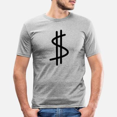 Dollar dollar - Mannen slim fit T-shirt