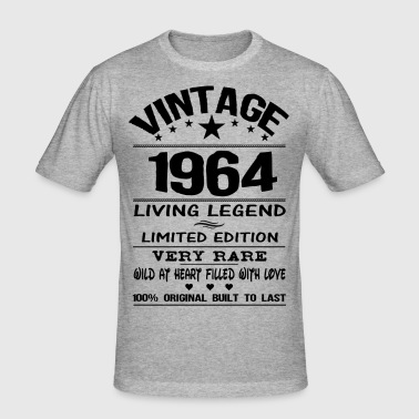VINTAGE 1964 - Men's Slim Fit T-Shirt