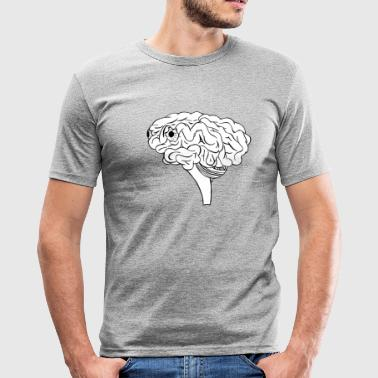brain - Men's Slim Fit T-Shirt