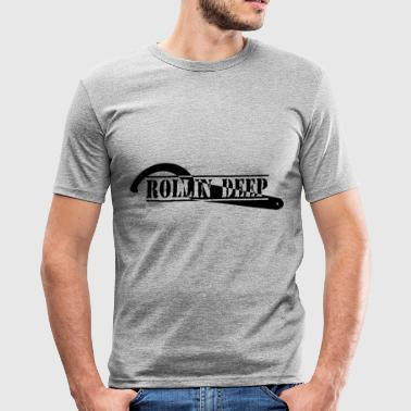 Rolli DEEP - Slim Fit T-skjorte for menn