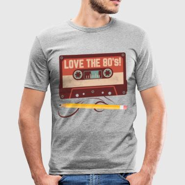 Love the 80s - slim fit T-shirt