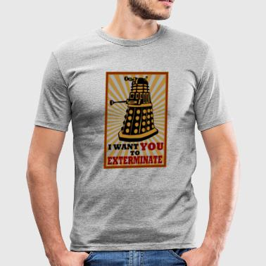 Dalek - Männer Slim Fit T-Shirt