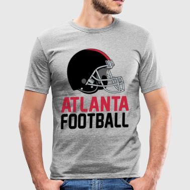 Helmet Atlanta - Männer Slim Fit T-Shirt