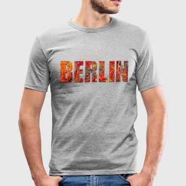 Berlin 005 - Men's Slim Fit T-Shirt