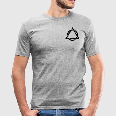 top trekant - Herre Slim Fit T-Shirt