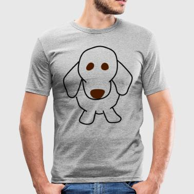 dachshund - Men's Slim Fit T-Shirt