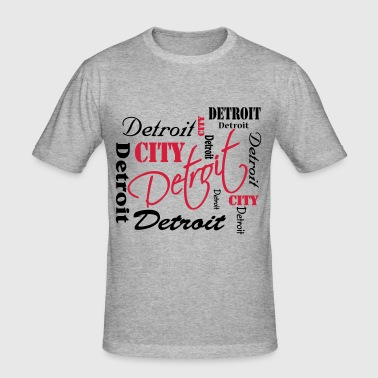 Detroit - Men's Slim Fit T-Shirt