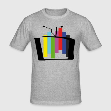 Test card outbreak - Men's Slim Fit T-Shirt