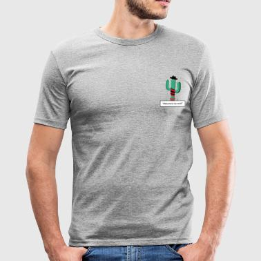 Cactus Krueger - Slim Fit T-skjorte for menn