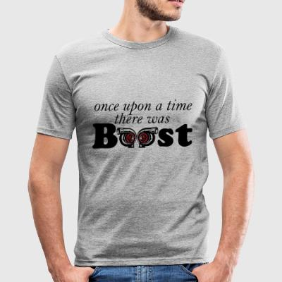 once upon a time boost - Men's Slim Fit T-Shirt