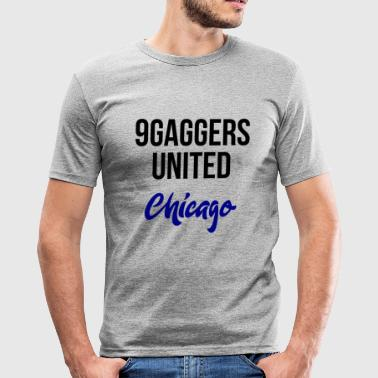 9gagger Chicago - Tee shirt près du corps Homme