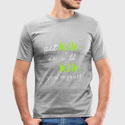 Kikyou Collection - Herre Slim Fit T-Shirt