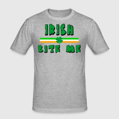 Irish Bite Me - Men's Slim Fit T-Shirt
