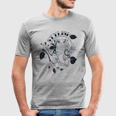 stilvoll - Männer Slim Fit T-Shirt