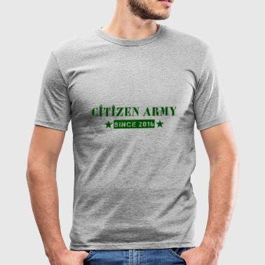 Citizen Tripad green - Men's Slim Fit T-Shirt