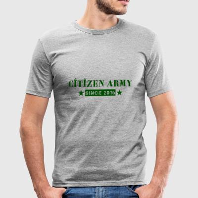 Citizen Tripad green - Slim Fit T-shirt herr