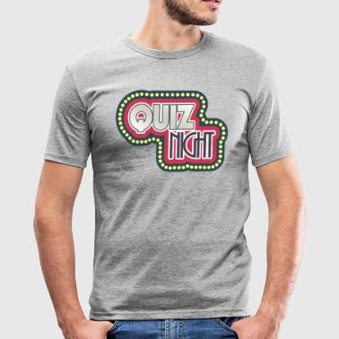 quiz - Men's Slim Fit T-Shirt