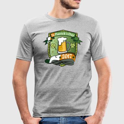 St Patrick - Herre Slim Fit T-Shirt