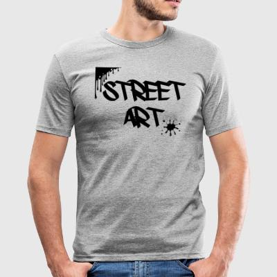 street art - slim fit T-shirt