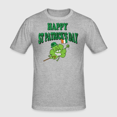 Happy St Patrick's Day - Men's Slim Fit T-Shirt