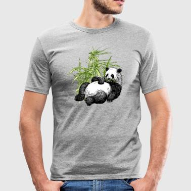 Panda_TS - Herre Slim Fit T-Shirt